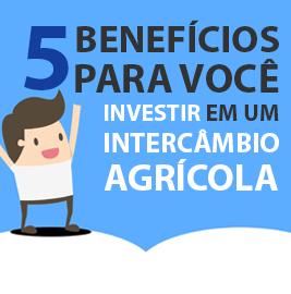 5 benefícios para você investir em um intercâmbio agrícola